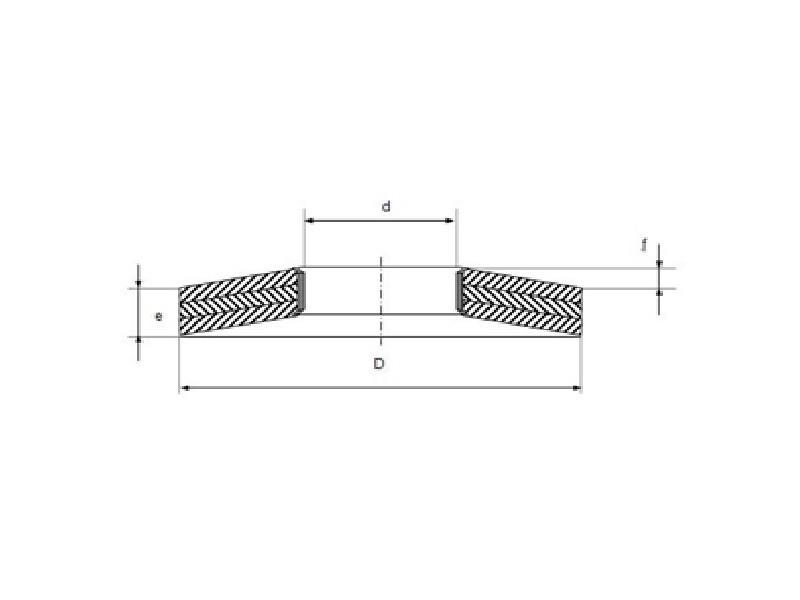 Rondelles ressort TREP type 3L brut